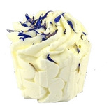 Cremet bade-cupcake med Lavendel og Kakaosmør - The Soap Shop
