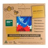 BeesWax Food Wraps 2 x medium