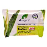 Dr. Organic Renseservietter Tea Tree 20 stk.
