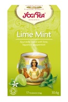 Yogi tea Lime mint 17 breve. Økologisk