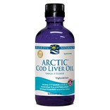 Nordic Naturals Cod liver oil (torskelevertran) flydende. 237 ml.