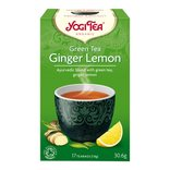 Yogi Green Tea Ginger Lemon 17 breve. Økologisk